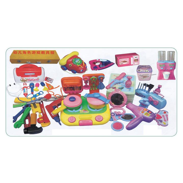 产品介绍 幼儿园玩具 雄飞幼儿角色游戏教具箱 xf066 01 高清图片